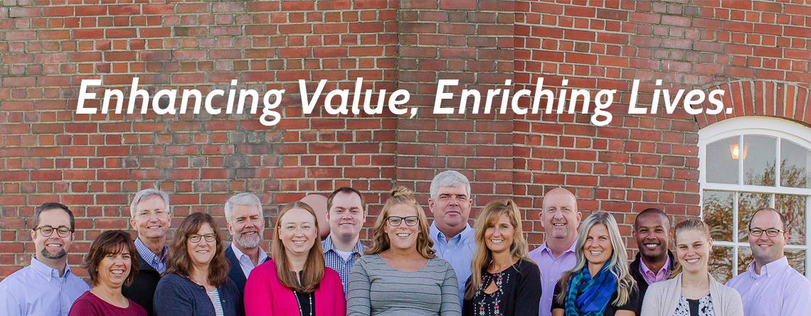 Enhancing Value, Enriching Lives.